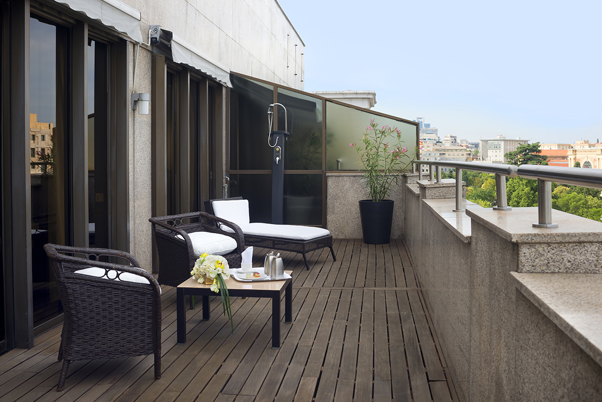 Royal Senior Terrace Hotel Miguel Angel Madrid